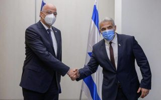 dendias-welcomes-israeli-reaction-to-turkey-s-varosha-plans