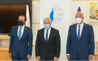 cyprus-greece-israel-discuss-regional-issues