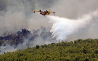 major-blaze-continues-northwest-of-athens