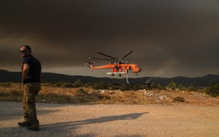 firefighters-battle-growing-forest-blaze-near-athens