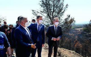 slovakia-s-pm-visits-wildfire-devastated-attica-spot