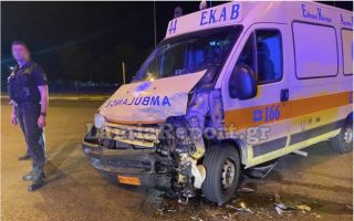 one-man-injured-in-car-ambulance-collision-on-national-highway