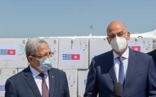 greece-delivers-100-000-covid-vaccines-to-tunisia